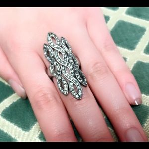 Jewelry - Antique Long Ring Sz 7- 8